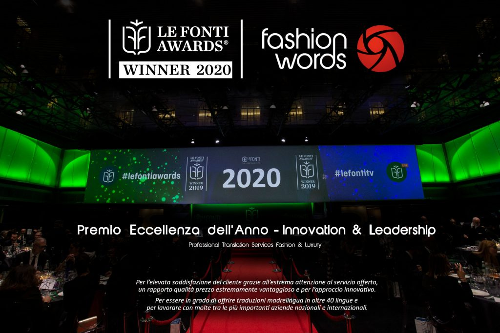 …and the winner is… Fashion Words!