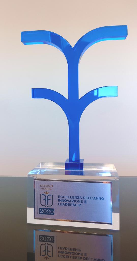 Premio Eccellenza dell'Anno 2020